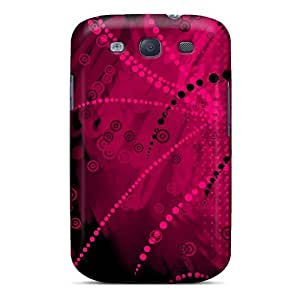 Defender Case For Galaxy S3, Pink Dark Vector 1080p Hd Jpg Pattern