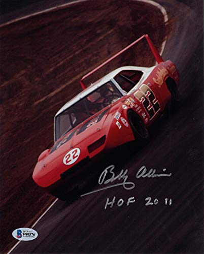 Bobby Allison Signed Autographed 8X10 Photo + Hof 2011 Nascar Legend Beckett Bas