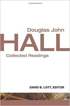 Book Douglas John Hall: Collected Readings