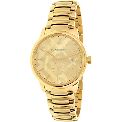 Burberry-Mens-Swiss-Gold-Tone-Ion-Plated-Stainless-Steel-Bracelet-Watch-40mm-BU10006