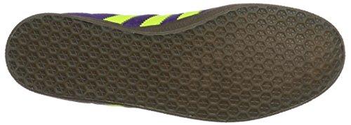 adidas Gazelle, Sneakers Basses Homme Violet (Unity Purple/Solar Yellow/Gum)
