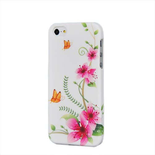 MOONCASE TPU Silicone Housse Coque Etui Gel Case Cover Pour Apple iPhone 5 5G