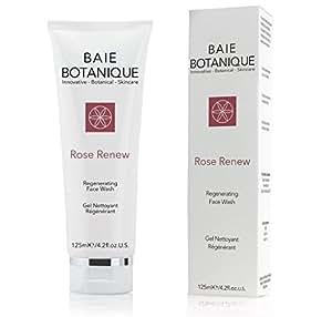 La Mejor Limpieza Regeneradora para la Cara - Gel Limpiador Facial - Agua de Rosa, Absoluto de Rosa, Aceite de Semillas de Mosqueta, MSM, Vitamina C, Té Verde - 98% Natural, 70% Orgánico