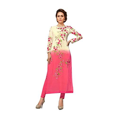 Pink & White Color Salwar Kameez Bollywood Diwali Festive Wedding Formal Party Wear Women Ceremony By Ethnic Emporium 524 by ETHNIC EMPORIUM
