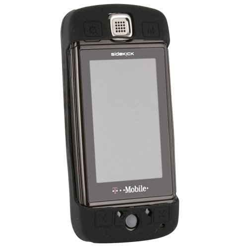 Wireless Xcessories Silicone Cover for Sharp Sidekick LX - Black