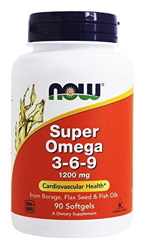 NOW Foods Super Omega 3 6 9