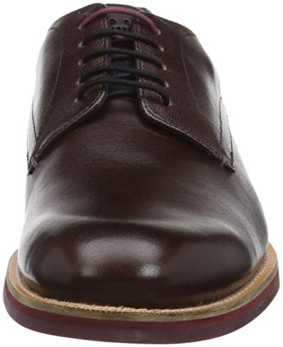 Baker Dark Dk Red Rouge Ted Jhorge Derbys Homme Red OqwX4ZH