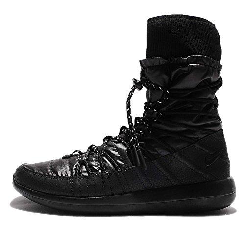 38ed67470d4fe Nike Roshe Two High Women s 861707-001 Black White on sale - malo ...