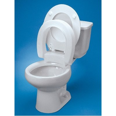 MCK34723500 - Maddak Toilet Seat Tall-ette Standard, 3 Inch, Hinged Elevated