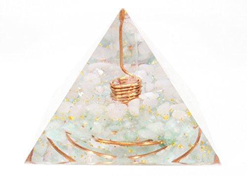 Orgonite Orgone Pyramid - Energy Generator - LOVE - Crystal Gemstone Pyramid - Quartz Rose Quartz Aventurine - LARGE & POWERFUL! Add Yours to Cart Now!