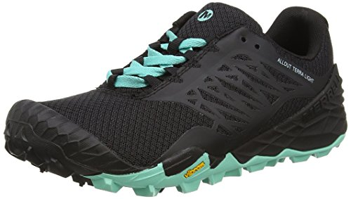 Merrell All Out Terra Light Womens Shoes/Sneakers/Trainers/Sport Black