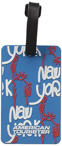 American Tourister City Luggage Tag Travel Accessory, New York