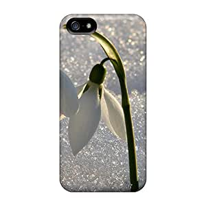 New Arrival Flirting Snowdrops For Iphone 5/5s Cases Covers