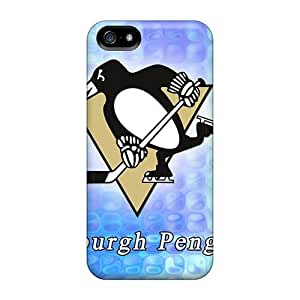 Protection Case For Iphone 5/5s / Case Cover For Iphone(pittsburg Penguins)