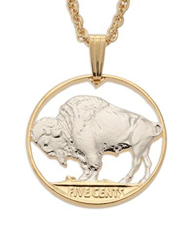 United States Buffalo Head Nickel Pendant & Necklace