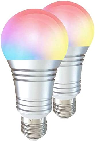 SUPERMI Smart Bulb 7W,Smart LED 60W Equivalent Dimmable E27,Smart Light Multicolored,WiFi Smart LED Light Bulbs No Hub Required