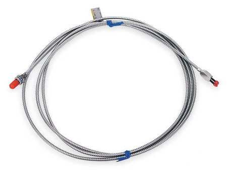 Fbr Optic Cable, Diffuse, 6-9/16 ft., 163mm