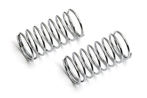 Team Associated 21197 18T Front Shock Spring, Silver, 2.55-Pound, Set of 2