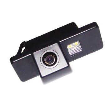 Akhan CAM10-12 Farb R/ückfahrkamera Einparkhilfe Kamera f/ür Nummerschildbeleuchtung Kennzeichenbeleuchtung