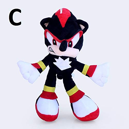 PAPRING Sonic Boom Toys 11 inch Animation Big Plush Huggable Toy Large Stuffed Gift Christmas Halloween Birthday Gifts Cute Doll Animal New Decoration Collection Collectible for Kids Baby (C) -