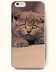 iPhone 6 Plus Case 5.5 Inches Gray Cat