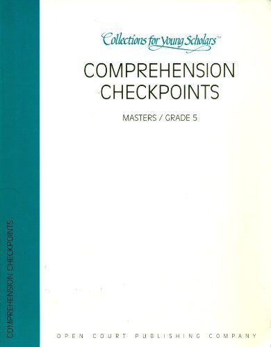 Comprehension Checkpoints (Collections for Young Scholars, Masters/Grade 2)