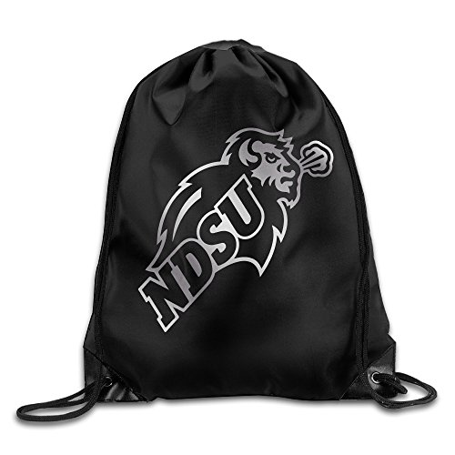 Price comparison product image Ndsu Bison Platinum Logo Drawstring Backpack Bag