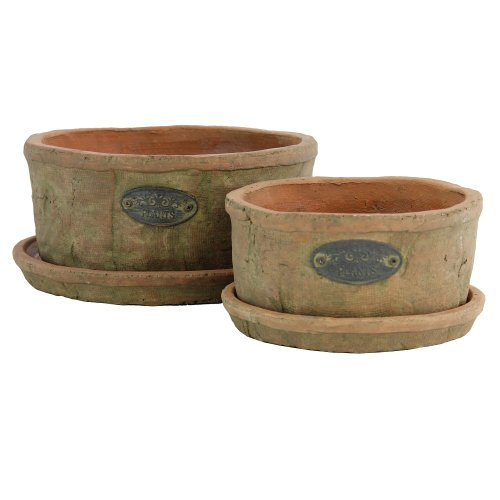 - TIC Collection 36-725 Fendrel Planters, Set of 2