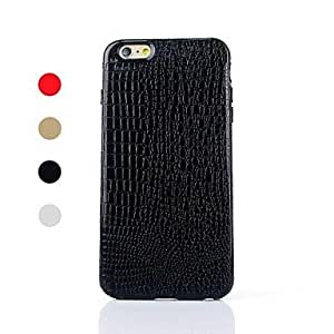 FJM Crocodile Pattern TPU Soft Cover for iPhone 6 Plus(Assorted Colors) , Golden