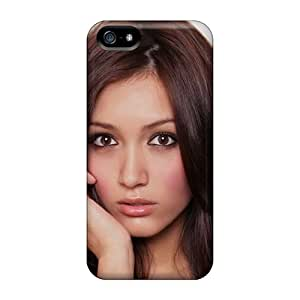 Ultra Slim Fit Hard WalkingStreet Case Cover Specially Made For Iphone 5/5s- Misa Campo Face Hair