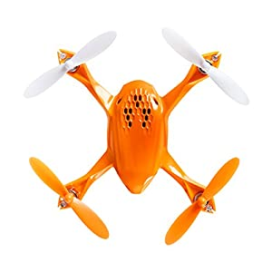 Tekstra Hubsan Spyder Micro Drone RC Quadcopter, Beginner Drone with Remote Controller, Fire Orange by Tekstra Brands