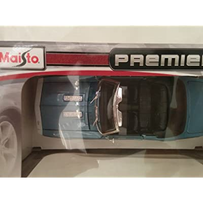 #31683 Maisto Special Edition 1968 Chevrolet Camaro SS 396 Convertible,Blue 1/24 Scale Diecast: Toys & Games