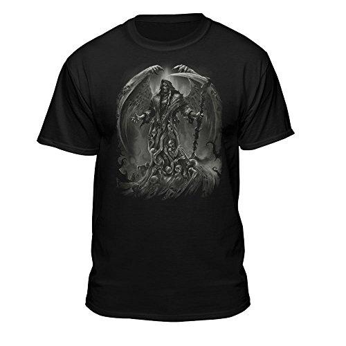 Teelocity Soul Searcher Grim Reaper Angel Wings Men's