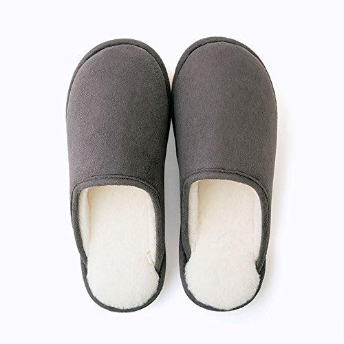 dimensione Uomini Interni Pantofole Le 5 Colori Pacchetto E Scuro Scivolose Con Di Domestiche In Grigio Metà Autunno Facoltativi Coppie Inverno Facoltativa Colore Zhirong vnOx6Ux