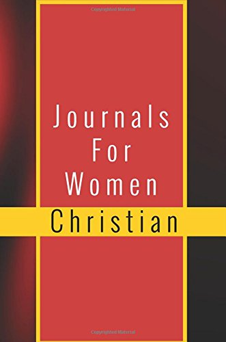Journals For Women Christian: Blank Prayer Journal, 6 x 9, 108 Lined Pages