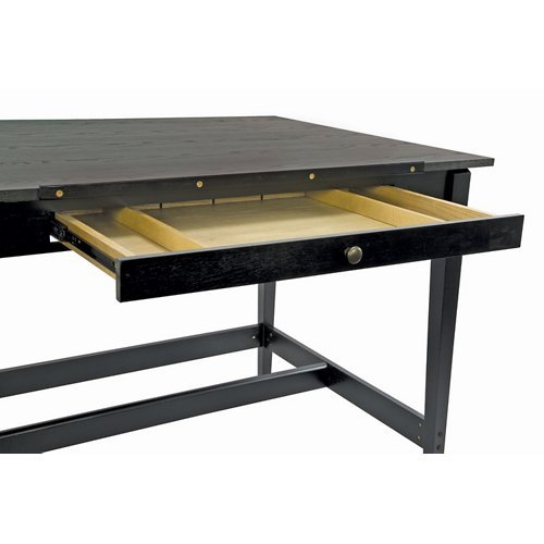 Drawing Room Table in Black Ash
