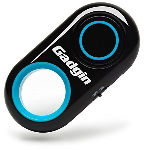 Gadgin Premium Selfie Remote Control Camera Shutter - Amazing Wireless Clicker for Photo, Video - for iPhone, iPad, Samsung Galaxy, Note, Tab, HTC, Moto, Android, iOS, Phone, Tablet (30ft Range) from Gadgin