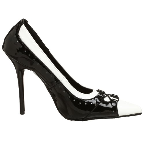 Pleaser MIL09/BW- Zapato Mujer