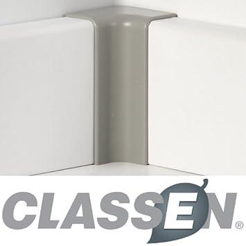 65 x 18 mm steingrau Classen Innenecke für FUXX-Laminatleiste foliert