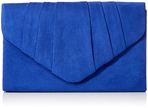 Envelope Clutch Women's Blue Party SwankySwans Velvet Prom Suede Bag Clutch Royal Blue Iggy AIdwz4