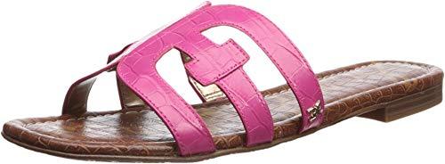 Sam Edelman Women's Bay Pink Peony Suraze Large Croco Leather 9 W US ()