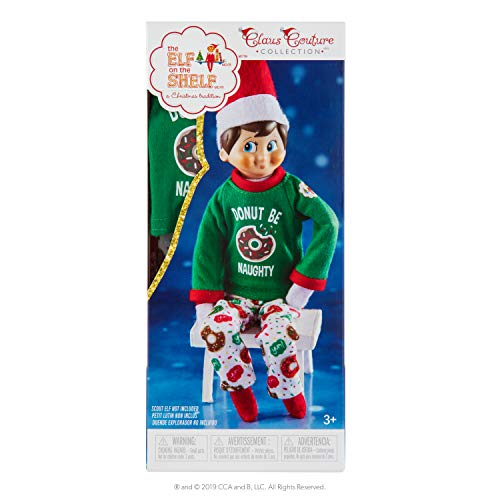 The Elf on the Shelf Claus Couture Donut Be Naughty Pjs (Elf On The Shelf Clothes For Elves)
