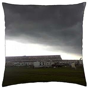 Storm en Pocono Raceway–Funda de almohada manta (16