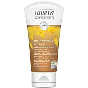 Lavera Crème Auto-Bronzante Idéale Pour Le Visage Vegan Cosmétiques Naturels Ingrédients Végétaux Bio 100% Naturel (50ml)