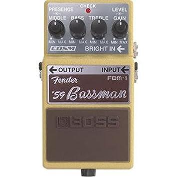 Boss - Fbm 1 pedal fender legend