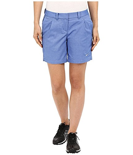 Price comparison product image Nike Golf Women's Oxford Shorts Game Royal/White 10 X 6