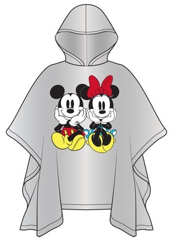 Adult Mickey and Minnie Raincoat