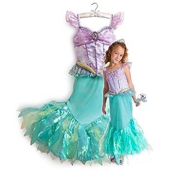 9097ac3bd952f 新作 ディズニープリンセス Disney Princess 2013 子供 キッズ コスチューム 衣装 リトル・マーメイド アリエル 120 130