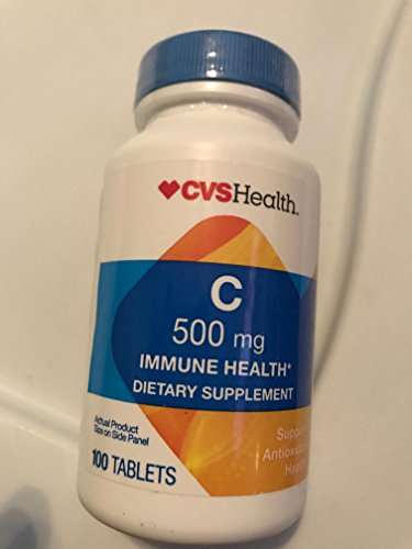 CVS Health Vitamin C 500mg 100 Tablets