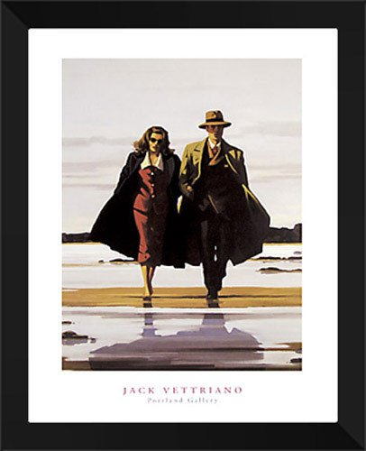 """Jack Vettriano Framed Art Print 24x32 """"The Road to for sale  Delivered anywhere in USA"""